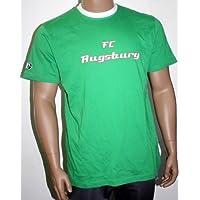 FC Augsburg FCA T-Shirt Grün Gr. S/M Bundesliga Fan-Artikel 29808