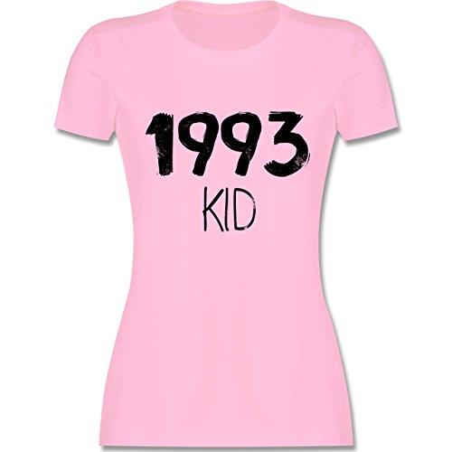 Geburtstag - 1993 KID - tailliertes Premium T-Shirt mit Rundhalsausschnitt für Damen Rosa