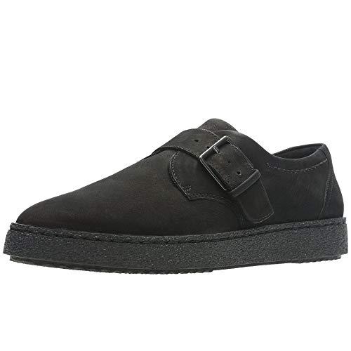Clarks Lilia Amber Frauen Nubuk Leder Schnallen Schuhe 3.5 D (M) UK/ 36 EU Schwarz -