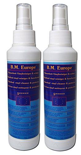 2x Vinylreiniger Vinylclean B.M. Europe Wasserbett Softside Hardside -