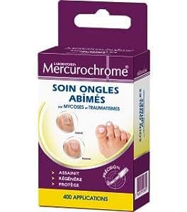 Mercurochrome - Hygiène et soins - Soin ongles abîmés par mycoses ou traumatismes