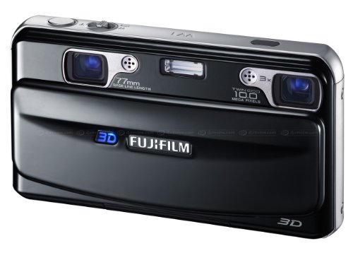 Fujifilm Finepix REAL 3D W1 3D-Digitalkamera (10 Megapixel, 3-fach opt. Zoom, 7,1 cm (2,8 Zoll) Display, 3D-Fotos)