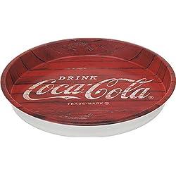 "Coca Cola Tablett ""Used"" Vintage Retro Metall Durchmesser 33cm"