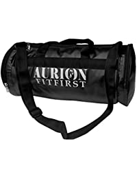 Aurion PU Leather Duffel Bag Sports Gym For Women & Men