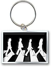 Portachiavi Abbey Road (Nero E Metallo Rettangolare)