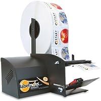 START International LD6100-2EU Dispensador de Etiquetas Eléctrico de Alta Velocidad, Ancho Máximo 121 mm, Longitud Máxima 152 mm, Velocidad de Alimentación de 16.8 cm/s, Negro