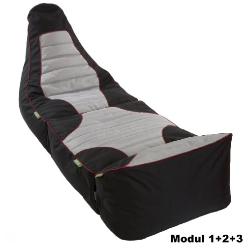 Sitzsack RACE 'ZONE3' Gamer - für Gaming & Chill Out (Modul 1+2+3)