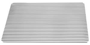 Tischset Transparent Grau gestreift 30 x 45 cm