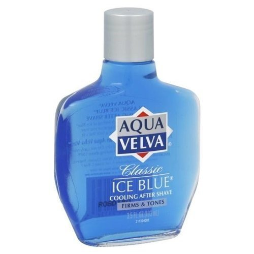 Classic Ice Blue Cooling After Shave by Aqua Velva - Aqua Velva Ice