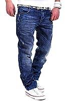 Cipo & Baxx Nieten Jeans Blau C-1047