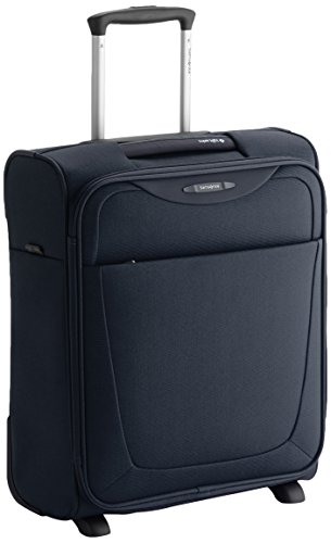 Samsonite Base Hits Upright Valigia, 33 Litri, Navy Blue