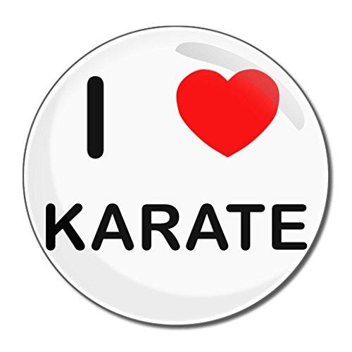I Love Karate - 77mm runder kompakter Spiegel