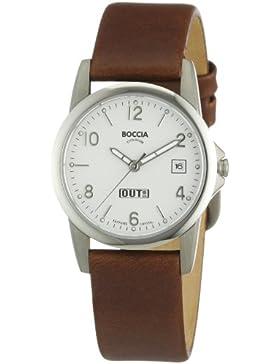 Boccia Damen-Armbanduhr XS Analog Quarz Leder 3080-02
