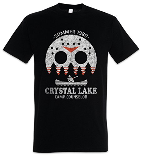 Crystal Lake Camp Counselor Herren T-Shirt (Halloween Friday 13th)