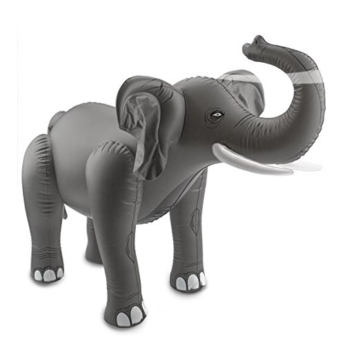 Folat Aufblasbarer Elefant – Partyzubehör (75x 60cm)
