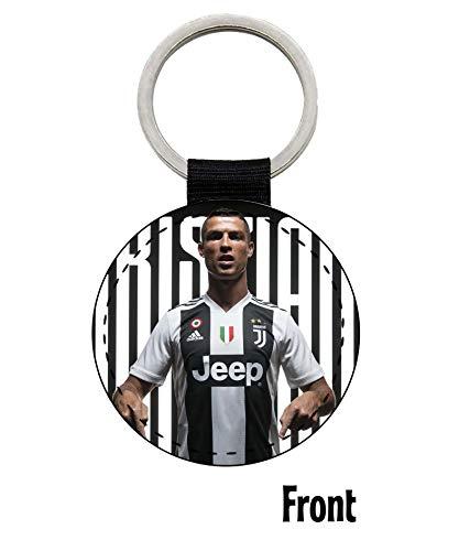 MasTazas Cristiano Ronaldo CR7 Juventus Turin Portugal Schlüsselanhänger Keyring