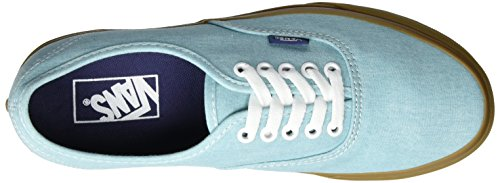 Vans Ua Authentic, Scarpe da Ginnastica Basse Uomo Blu (Washed Canvas Blue Radiance/gum)