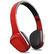 Energy Sistem Energy Headphones 1 Bluetooth - Auriculares de diadema cerrados (Bluetooth, Control Talk, Audio-In, bateria hasta 8 horas, plegables), rojo