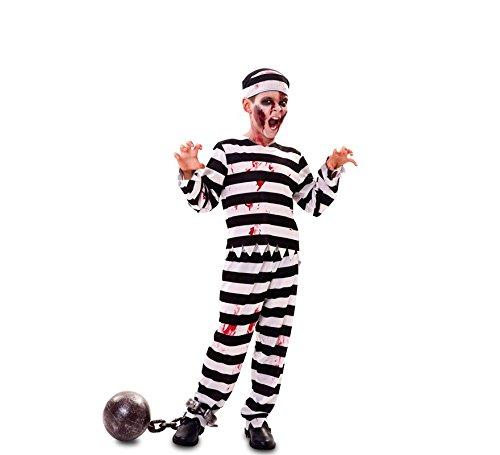Fyasa 706529-t01Zombie Gefangene Kostüm, Mittel