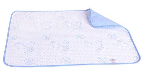 Baby-Home Reise-Urin-Auflage Abdeckung Pad ändern 70 * 50cm, Delphin
