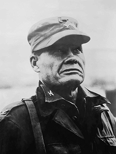 The Poster Corp John Parrot/Stocktrek Images - Digitally Restored Vector Portrait of General Lewis Chesty Puller. Photo Print (20,32 x 25,40 cm) -