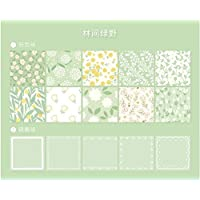 ‏‪100sheets/set Memo Pad School Supplies Stationery DIY Gift Back To School Office Accessories Presented By Kevin&sasa Crafts (Green)‬‏