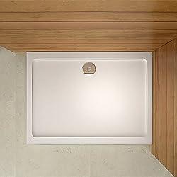 Receveur de douche 70x90cm estra plat rectangulaire bac à douche