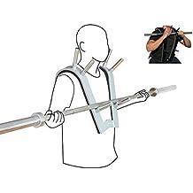 Softee Equipment 0024362Support pour épaule Squat, blanc, S