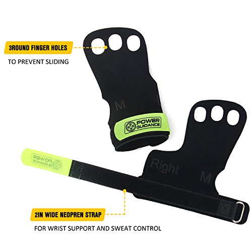 Zoom IMG-2 guanti per palestra giallo m