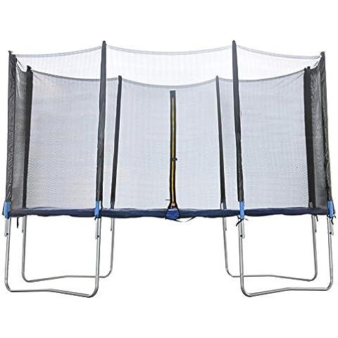 Alta calidad 6ft 8ft 10ft 12ft 13ft 14ft 16ft cama elástica red de seguridad de repuesto Enclosure surround-net