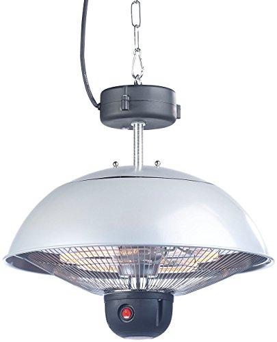 Semptec Quarz-Heizstrahler: Infrarot-Decken-Heizstrahler m. Fernbed, 800-2.000 Watt, LED, IPX4 (Infrarot-Außen-Heizstrahler) - 5