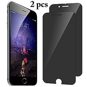 accesorios para espiar: Bangcool iPhone X Protector de Pantalla Anti Espiar 9H Película de Dureza para i...