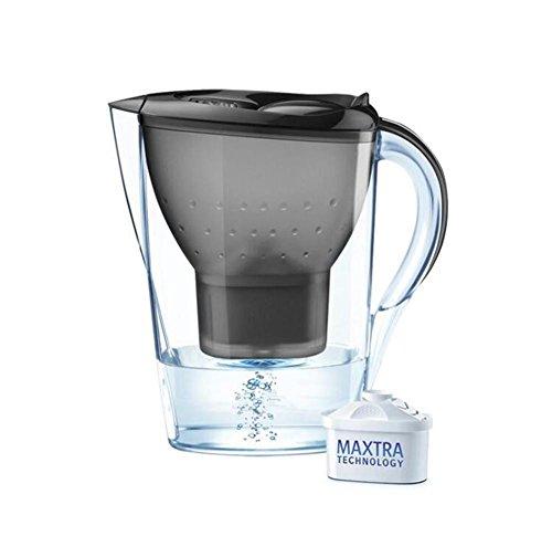 ZTYR Clarion Wasserfilter Krug 3.5L blau Wasser Flasche Wasserreiniger , black