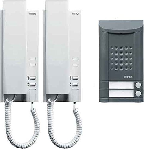 Ritto by Schneider Wired intercom systemBlack