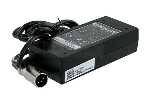 ORIGINAL TRANZX 24V CARGADOR PARA BICICLETAS ELECTRICAS/S BIKE/PEDELEC PARA TRANZX BATERIA BL01