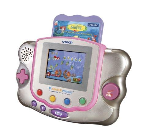 Konsole-V. Smile-Pocket, rosa + Spiel Die kleine Meerjungfrau ()