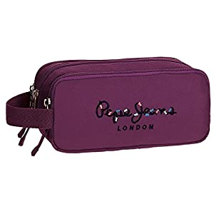 Pepe Jeans Harlow Violet Beauty Case Three compartments