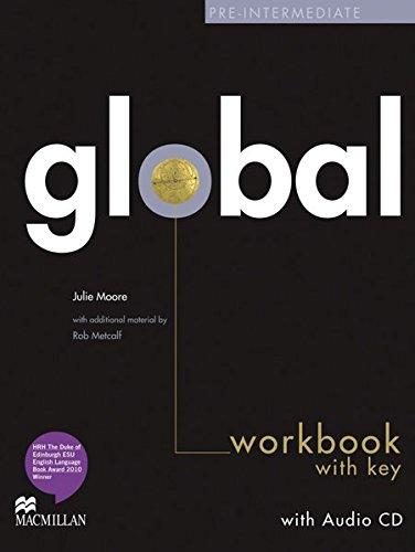 Global: Pre-Intermediate / Workbook with Audio-CD and Key