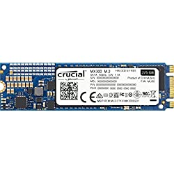 Crucial CT275MX300SSD4 SSD interne MX300 (275Go, 3D NAND, SATA, M.2 (2280)
