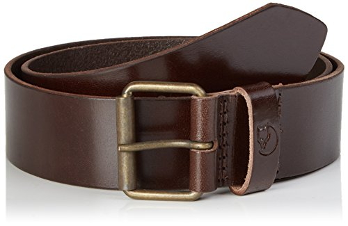 Fjällräven Herren Singi Belt 4 cm. Gürtel Leather Brown