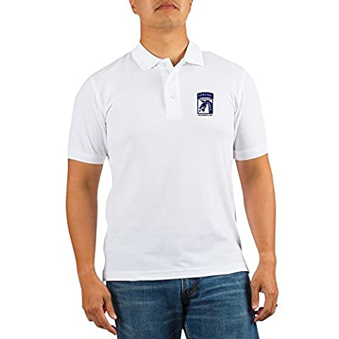 CafePress - 18Th Airborne Corps - Golf Shirt, Pique Knit Golf Polo