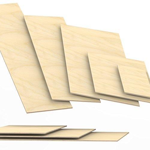 6,5mm legno compensato pannelli multistrati tagliati fino a 200cm: 40x60 cm
