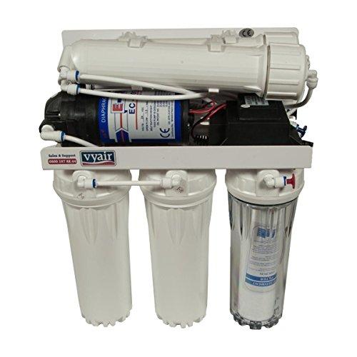 Vyair 200 gallons-al-giorno ro-200 osmosi inversa purificazione sistema a stadi (24dc pompa elettrica con doppia ultra bassa pressione membrana) per acquari, acqua potabile, farmaci, e pulizia