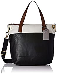 Fossil Keely Womens Handbag (Black)