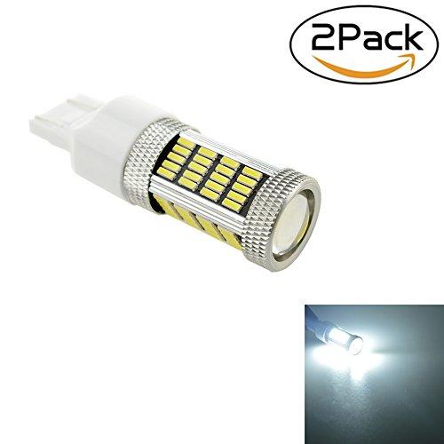 T20 7443 Shiningeyes 2/bianco auto 12 V Luce freno luci LED 4014 92SMD cena Bright (Kit Luce Freno Kit)