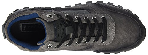 Dockers Di Gerli Uomo 41jf007-201220 Sneaker Alta Grigio (grigio Scuro)