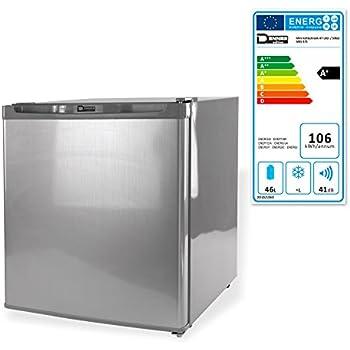 Mini Kühlschrank 47 Liter / 230 V Silber: Amazon.de: Baumarkt