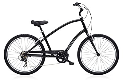 Electra Townie Original 7D black men tall Herrenrad