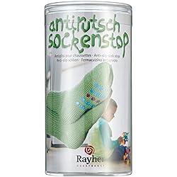 RAYHER 38845000 - Líquido para película antideslizante para calcetines (con plantilla y raspador), color rojo, azul y verde