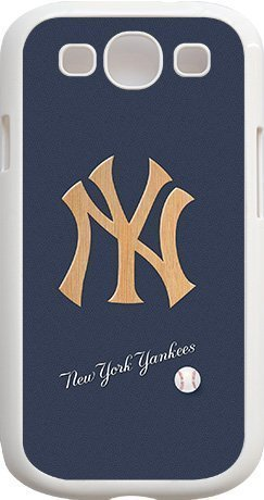 Onelee?? - MLB Team Logo, New York Yankees Logo Samsung GALAXY S3 Cases (White) - Yankees 2
